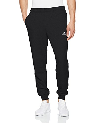 adidas Herren Essentials Hose, Black/White, XS