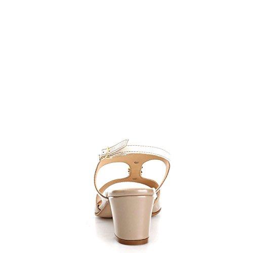 Sandalias Melluso K95337v Sand / White Para Mujer