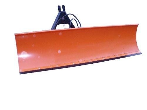 Schneeschild Schneepflug 200x57cm Hydraulisch nach links und rechts schwenkbar für Traktor Bulldog Kat-2 / inklusive Haydraulik