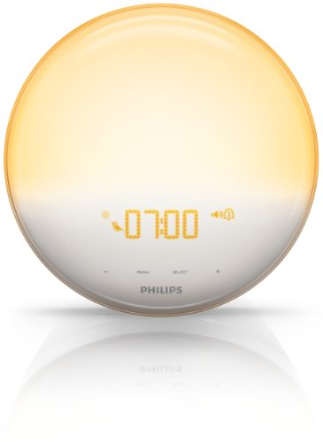 Philips HF3520/01 Wake-Up Light (Sonnenaufgangfunktion, digitales FM Radio, Tageslichtwecker) weiß - 10