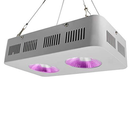 LED-Pflanzen Wachstum Light 400W, Dual Chip LED Plant Light, Full Spectrum Growth Light, Rope Hanger für Indoor-Pflanzen, Gemüse und Blumen