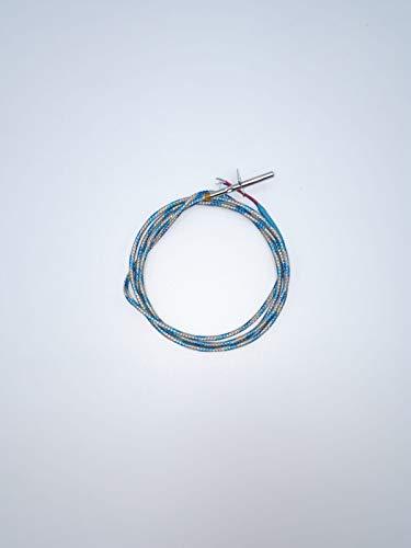 Sonda fumi stufe pellet Palazzetti - Royal - La Nordica Extraflame - Dal Zotto L1200 con staffa 895722460
