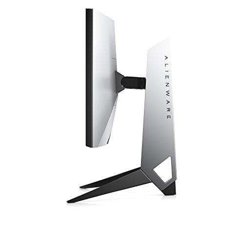 Alienware AW2518HF 24.5' Full HD TN Mate Negro, Plata Plana Pantalla para PC - Monitor (62,2 cm (24.5'), 1920 x 1080 Pixeles, LCD, 1 ms, 400 CD/m², Negro, Plata)