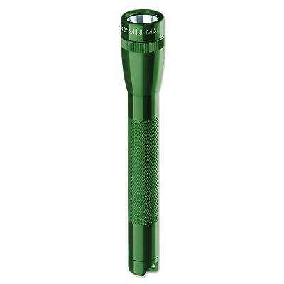 Mag-Lite M2A39H Mini Maglite AA Taschenlampe 14,5 cm dunkelgrün inkl. 2 Mignon-Batterien und Nylonholster von Mag-Lite bei Lampenhans.de