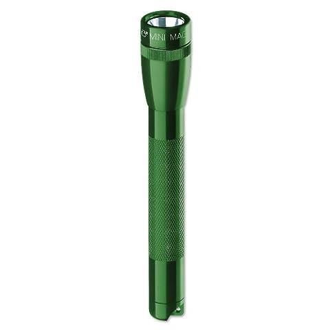 Mag-Lite M2A39H Mini Maglite AA Taschenlampe 14,5 cm dunkelgrün inkl. 2 Mignon-Batterien und