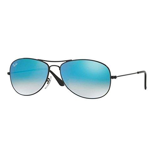 Ray-Ban Gradient Aviator Men's Sunglasses - (0RB3362002/4O59|59|Brown)