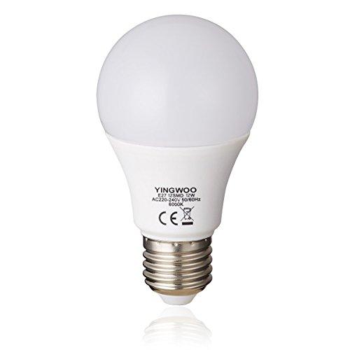 beleuchtung lampe led - glühbirnen natürlichen e27 12w a60 cool white 6000k warmen weißen 3000k 220v 240v ac 6000k 1150 lumen 100w glühlampen glühbirne entspricht [energie - klasse a + +. (6-licht Halogen-anhänger)