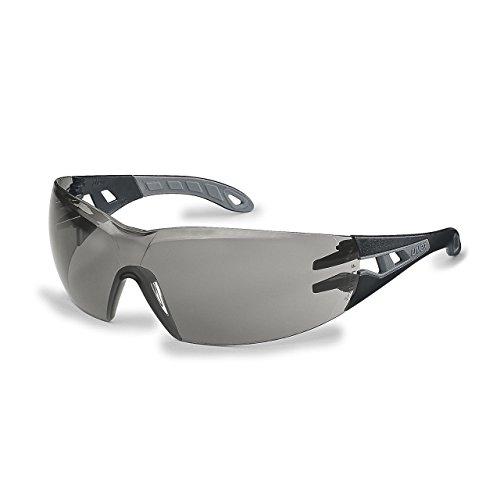 Uvex Sonnenbrille Schutzbrille pheos getönt, 100% UV-Schutz, gemäß EN 166 + EN 170