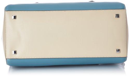 Clarks Marsh Tune 203592020 Damen Schultertaschen 35x20x16 cm (B x H x T), Blau (Blue Combi) Blau (Blue Combi)