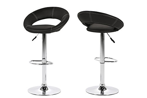 Ac design furniture set di sgabelli da bar thilde in