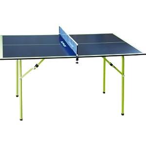 Sunflex Midi Tischtennis Tisch, Grün-Blau, 1270 x 710 x 650 mm