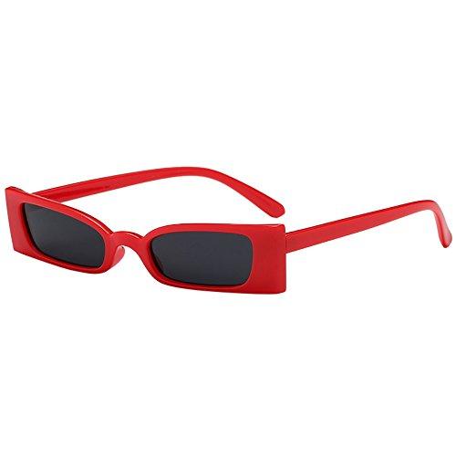Honestyi Frauen Mann Art und Weiseweinlese kleiner Rahmen Sonnenbrille Eyewear Retro Unisex 8035 Sonnenbrillen