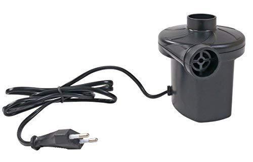 Buri Elektrische Luftpumpe 220V 3 Ventil-Adapter Kompressor Elektropumpe Gebläsepumpe
