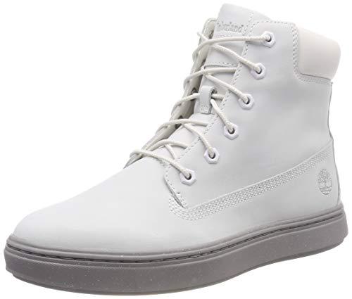 Timberland Damen Londyn Kurzschaft Stiefel, Weiß (Bright White Waterbuck 143), 39 EU (Damen Weiß Timberland Boots)