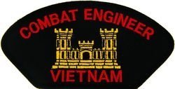 U.S. Army Combat Engineer Vietnam Patch (Large) by HMC (Engineer Combat)