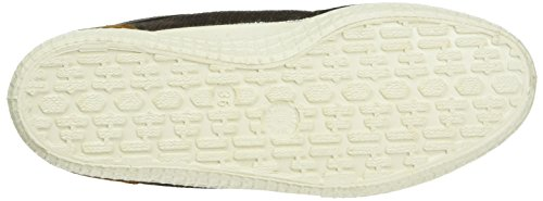 Kawasaki Unisex-Erwachsene Retro Sticth Low-Top Braun (Chocolate, 5)