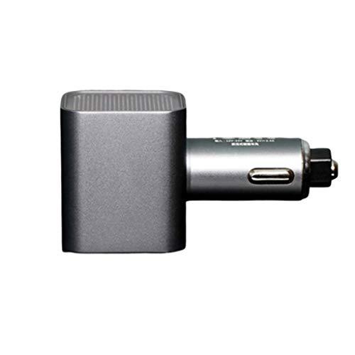LZADI Coche purificador de Aire Vehículo aéreo ionizador Negativo ozono Ion USB ozonizador Eliminador...
