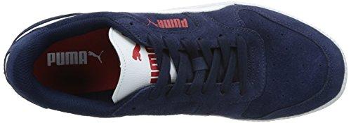Puma Icra Trainer Sd, Baskets Basses Mixte Adulte, Beige/Blanc Bleu (Peacoat-White 02)