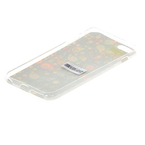 MOONCASE Gel TPU Silicone Housse Coque Etui Case Cover pour Apple iPhone 6 Plus 04