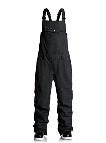 Quiksilver Found - Bib Snow Pants - Snow-Latzhose - Männer - L - Schwarz