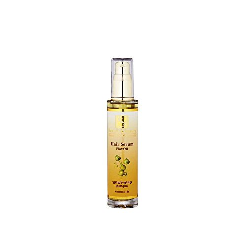 Mer Morte cosmétique - Health and Beauty Dead Sea Minerals - Sérum traitant pour cheveux à l'huile de lin - 50 ml