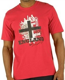 T-Shirt Nike Hero. Wayne Rooney Aufdruck. rot-weiß-schwarz. Größe S (Nike Wayne Rooney)