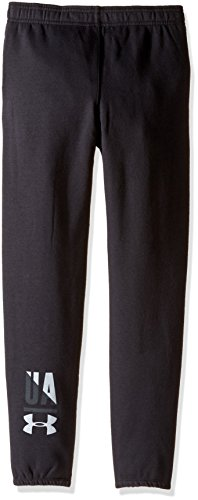 Under-Armour-Girls-Favorite-Fleece-Jogger-Pants-Black-SmallYouth
