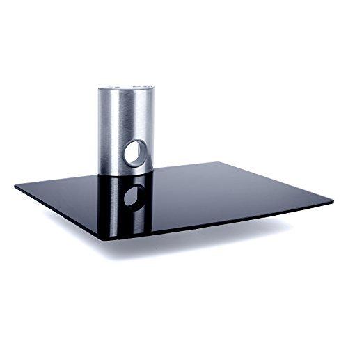 Duronic - Soporte de cristal de pared para lector DVD, amplificador, vídeo...