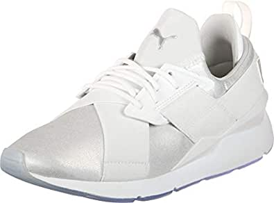 Muse Blanc Puma Argent Femmes Ice W Chaussures pq6xwdzX6