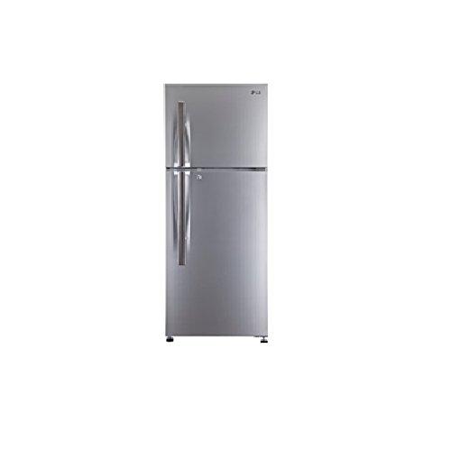 Lg 335 L 3 Star Frost-free Double Door Refrigerator (gl-d372jpzl, Shiny Steel)