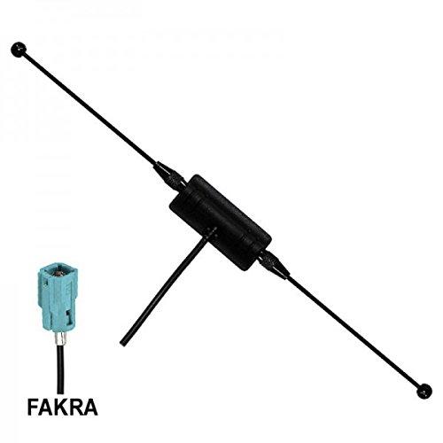 Preisvergleich Produktbild AMPIRE ANT 400 DVB-T / DAB Aktiv Antenne FAKRA