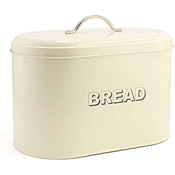 METAL VINTAGE STYLE LAUNDRY POWDER BOX BREAD BOX COMPOST BISCUIT JAR SWEET HOME