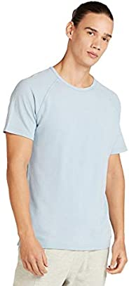 Iconic Men's 2300368 WASHED PIQUE Cotton T-Shirt,