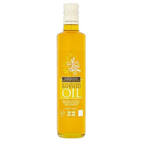 Farringtons Mellow Yellow huile de colza (500ml) - Paquet de 6