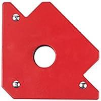 ukcoco magnético sudor Soporte hasta 25lb grosor Imanes potentes Flecha Forma para varios ángulo para soldadura soldar y montar
