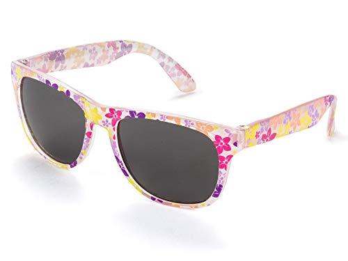 Kiddus Sonnenbrillen Mädchen Alter von 6 bis 12 Jahren Komfortabel und Sicher 100% UV-Schutz Ideales Geschenk für Kinder