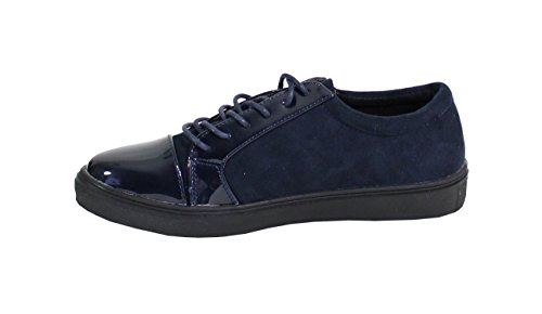 By Shoes Damen Sneakers Navy Blue