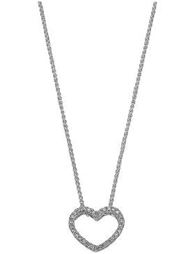 CHRIST Diamonds Damen-Kette 585er Gelbgold 30 Diamant ca. 0,12 ct. One Size, weißgold