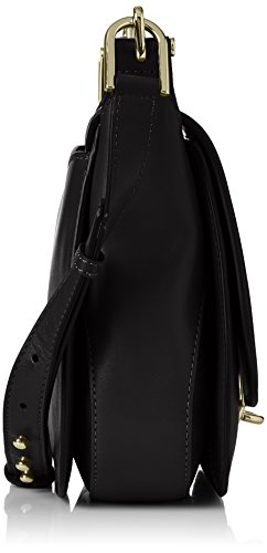 Michael Kors 30T7GDZM3S532, Borsa a Tracolla Donna, 7.8x23x26 cm Nero (Black)