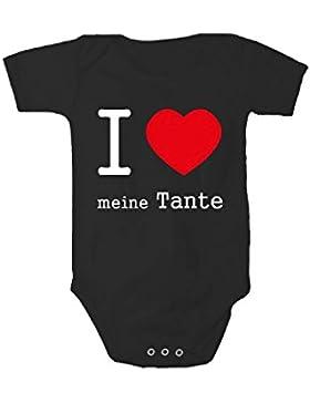 Fabio Farini kurzarm Baby-Body für Mädchen und Jungen, 100% Baumwolle,