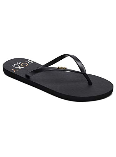 Roxy Viva Stamp - Flip-Flops for Women - Sandalen - Frauen - EU 38 - Schwarz