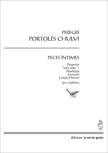 Peces íntimes: Per a guitarra (Catalan Edition) eBook: Peregrí ...