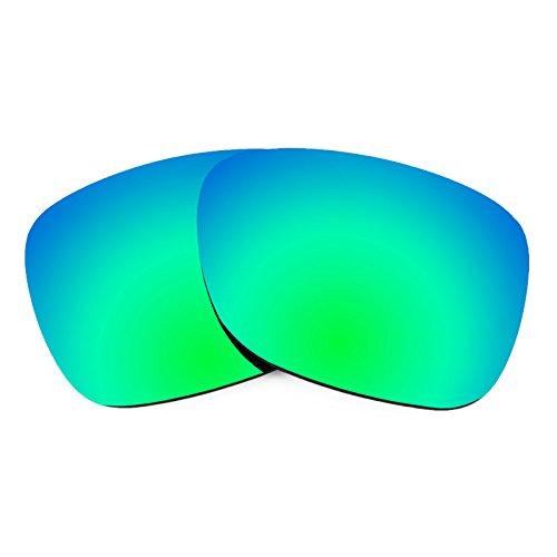 Revant Ersatzlinsen für Ray Ban Justin 54mm RB4165 Polarisierung Emerald Grün MirrorShield®