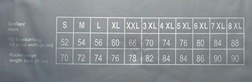 Kitaro 2er Pack T-Shirts Shirt Tee-Shirt schwarz Rundhals 68903 100 HW16-KT | bis 8XL ÜBERGRÖSSE! Schwarz