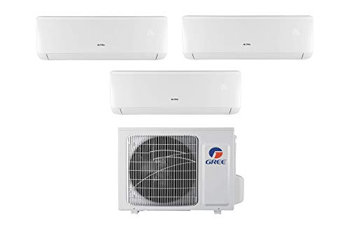 Climatizzatore inverter trial split BORA 9000 + 9000 + 9000 Btu GREE R32 classe A++/A+