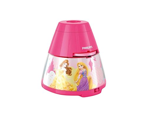 Philips Disney LED Projektor Tischleuchte Princess, rosa, 717692816