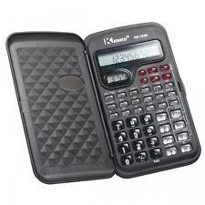 Kenko schwarz Wissenschaftlicher Taschenrechner für die Arbeit, Universität, College, mit Uhr