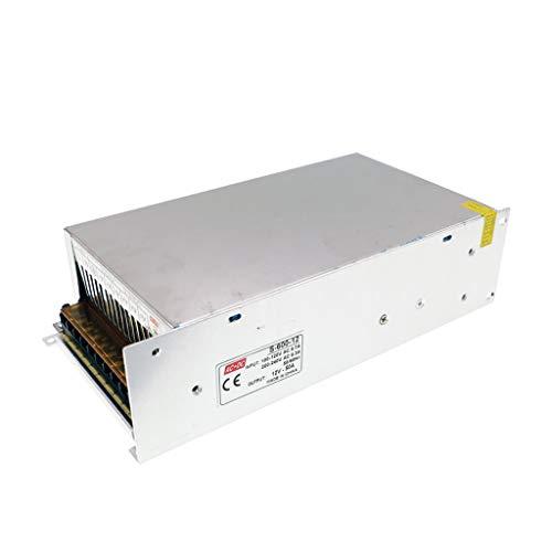 HAILI AC 110 / 220V DC12V 50A Convertidor Fuente alimentación