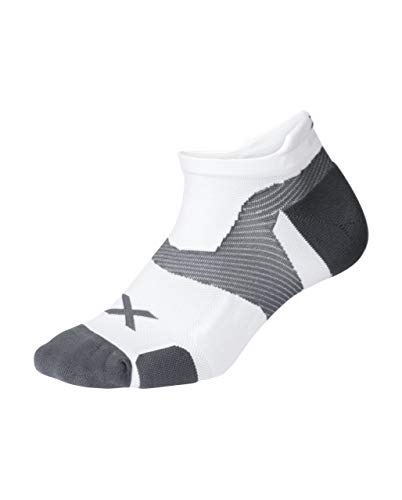 2XU Vectr Cushion No Show Socks Calcetines