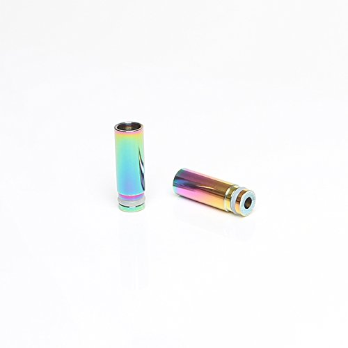 DIY-24H - Driptip 510 Anschluss für Verdampfer Rainbow Regenbogen Farben Mundstück Drip Tip